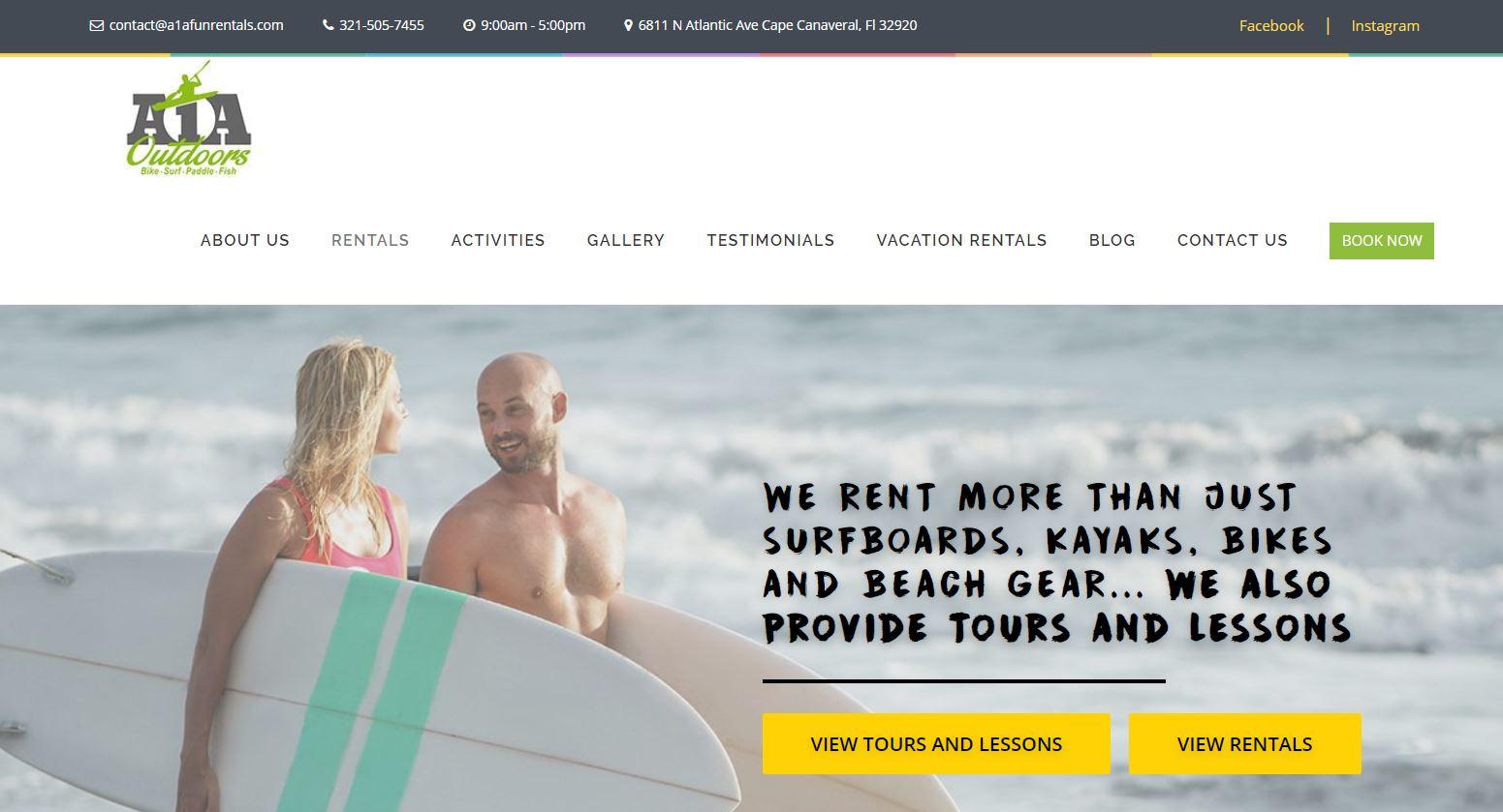 A1A Beach Rentals
