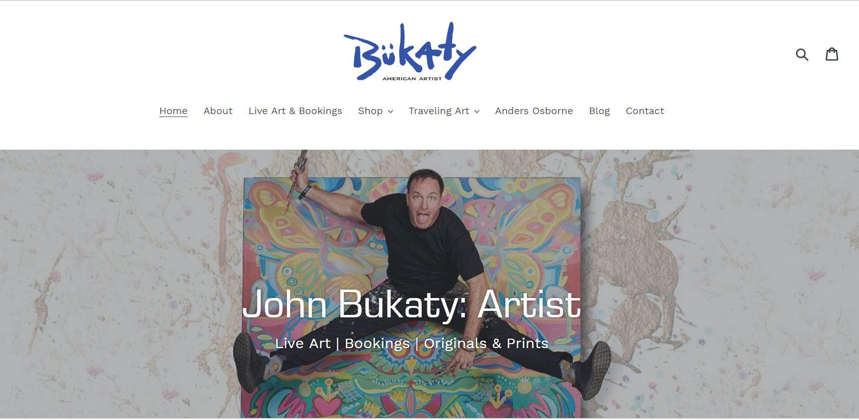 John Bukaty Artist