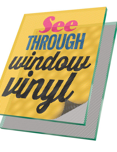 See through window graphics